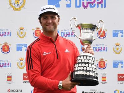 Jon Rahm gana el Open de España 2018 aclamado por el multitudinario público en el Centro Nacional de Golf