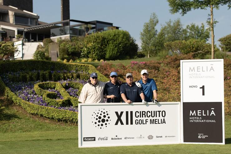La segunda prueba del XII Circuito de Golf Meliá Hotels seduce a los golfistas bilbaínos en Laukariz