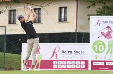 La canaria Eun Jung Ji Kim y la sueca Gustavsson, líderes de la primera ronda del Ribeira Sacra International Ladies Open