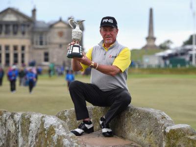 Miguel Ángel Jiménez gana su segundo Major, The Senior Open en Saint Andrews