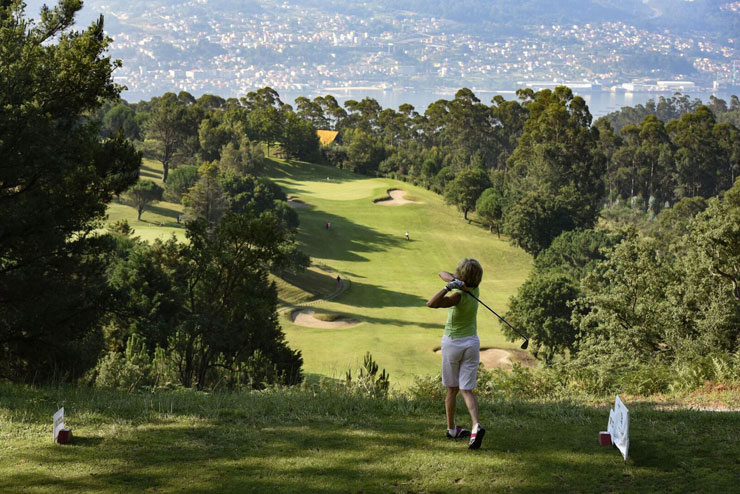 El refrescante Circuito Mahou San Miguel Golf Club 2018, a la brisa del Atlántico en el Club de Golf Ría de Vigo