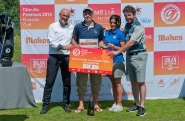 Tras el torneo del LETAS, el Circuito Premium 2018 cerró la gran semana del golf de Galicia en Augas Santas