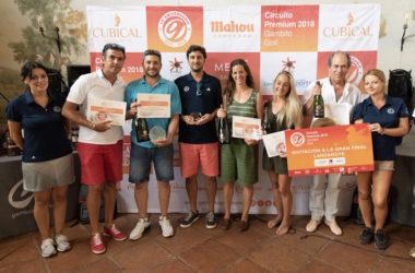 Éxito del torneo del Circuito Premium 2018 con el espíritu más andaluz en Sherry Golf