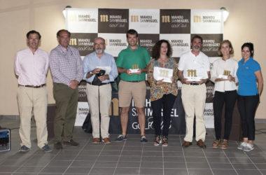 Éxito total en el debut del Circuito Mahou San Miguel Golf Club en Castillo de Gorraiz