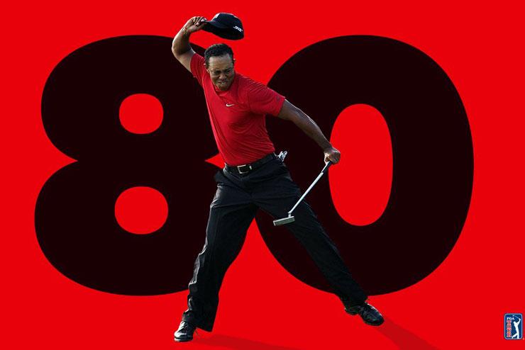 Tiger Woods regresa a la senda de la victoria con su título número 80 en el PGA Tour