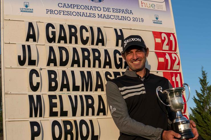 Alfredo García Heredia, a por su cuarto título en el Campeonato de España de Profesionales