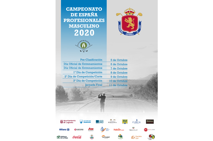 El Campo de Golf de Logroño, sede del Campeonato de España de Profesionales Masculino 2020