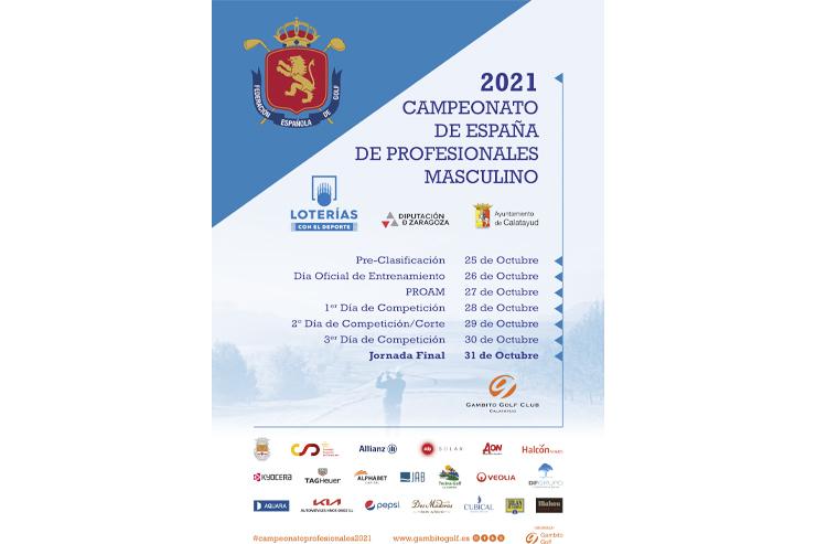 Gambito Golf Club Calatayud, otro gran desafío del Campeonato de España de Profesionales Masculino